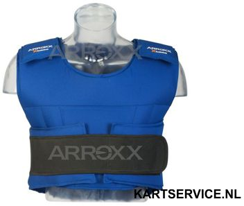 Arroxx bodyprotector blauw