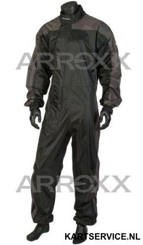 Arroxx regenpak Xpro in de  kleur zwart/grijs