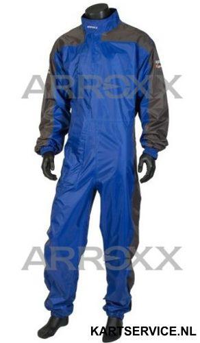 Arroxx regenpak Xpro in de  kleur blauw/grijs
