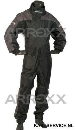 Arroxx regenpak Xpro JUNIOR in de  kleur zwart/grijs