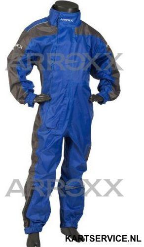 Arroxx regenpak Xpro JUNIOR in de  kleur blauw/grijs
