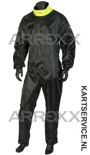 Arroxx regenpak Xbase in de  kleur zwart/geel