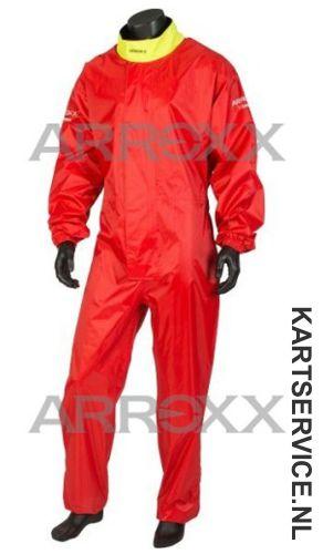 Arroxx regenpak Xbase in de  kleur rood/geel