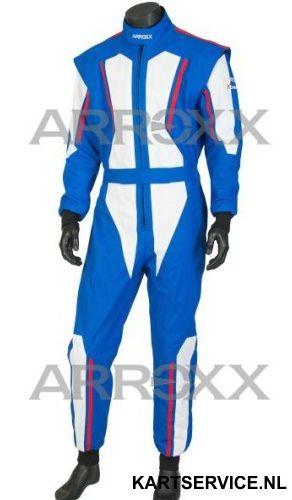 Arroxx Overall Cordura Level 2 Xbase Blauw-Wit-Rood