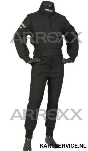 Arroxx Overall Cordura Junior Level 2 Xbase Monocolor Zwart