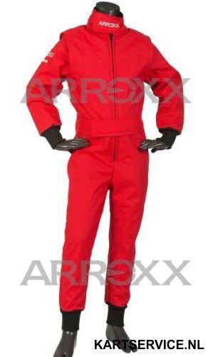 Arroxx Overall Cordura Junior Level 2 Xbase Monocolor Rood