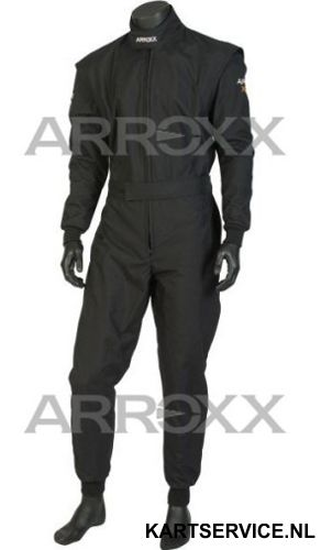 Arroxx Overall Cordura Level 2 Xbase Monocolor Zwart