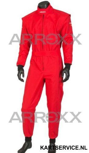 Arroxx Overall Cordura Level 2 Xbase Monocolor Rood