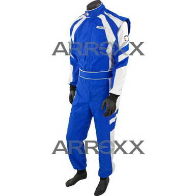 Arroxx Overall Cordura Level 2 Xbase Blauw-Wit