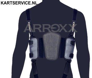 Arroxx HQ ribbeschermer zwart/zilver