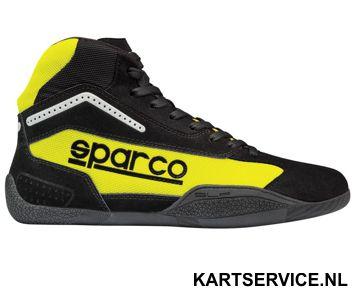 Sparco schoenen  Gamma KB-4 ZWART/GEEL