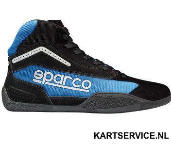 Sparco schoenen Gamma KB-4 ZWART/BLAUW
