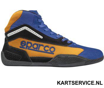 Sparco schoenen Gamma KB-4 ORANJE/BLAUW