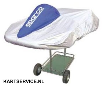 Sparco karthoes BLAUW/ZILVER
