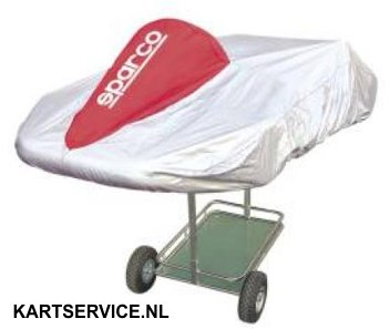 Sparco karthoes ROOD/ZILVER
