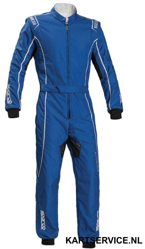 Sparco Groove KS-3 BLAUW (KIDS) overall