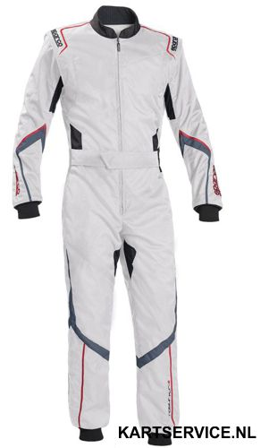 Sparco Robur KS-5 WIT/GRIJS overall