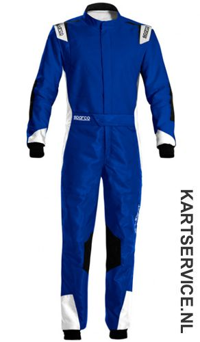 Sparco X-Light KS-7 BLAUW/ROOD overall