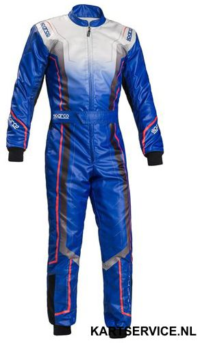 Sparco Prime KS-10 BLAUW overall
