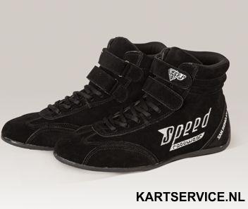 Schoenen Dunlop zwart/wit
