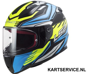 Helm LS2 INFINITE zwart/geel