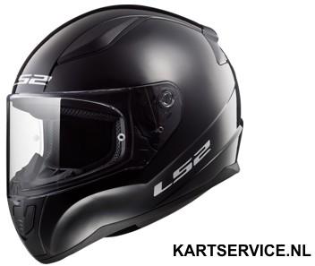 Helm LS2 INFINITE  zwart/rood