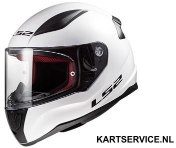Helm LS2 CARRERA zwart/fluo geel