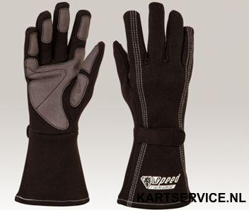 Handschoenen Speed zwart