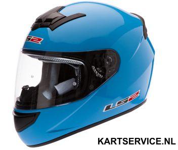 Helm LS2 blauw