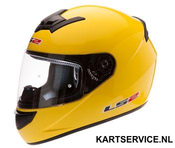 Helm LS2 geel
