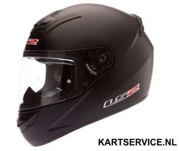 Helm LS2  mat zwart