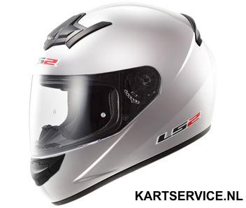 Helm LS2 zilver