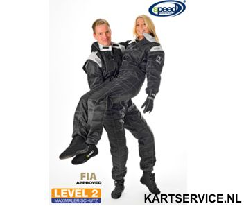 Overall Level 2 merk Speed Zwart