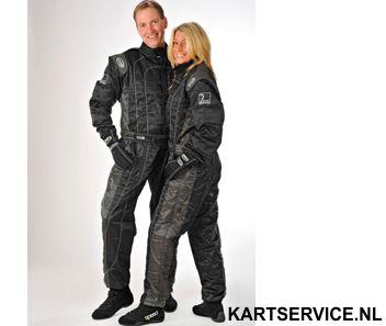 Overall Level 2 merk Speed Zwart/grijs