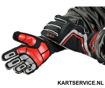 Handschoenen Speed SR1 zwart/rood