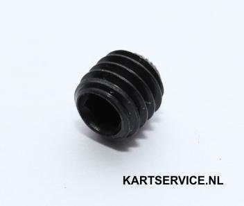 Inbusboutje voor 25 mm en 30 mm achteraslager (M6x0.75)
