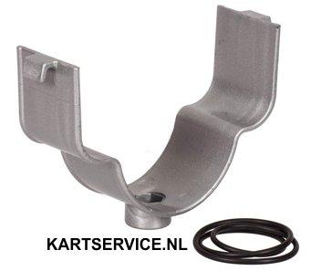 Luchtfilter steun plastic voor RR NOX filter SILVER