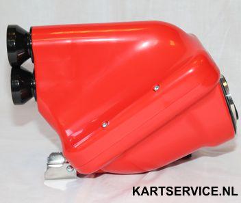 Luchtfilter NOX ACTIVE CIK 30mm rood/zwart