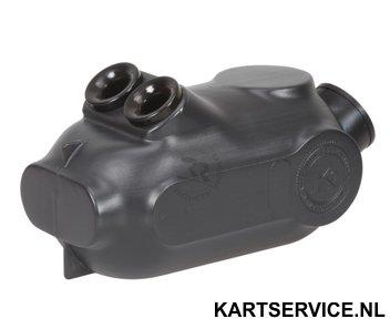 Luchtfilter RR membraan zwart 29mm
