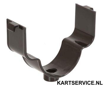 Luchtfilter steun plastic voor RR NOX filter ZWART