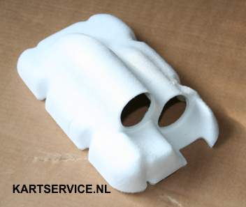 Dempings element voor NOX Luchtfilter RR