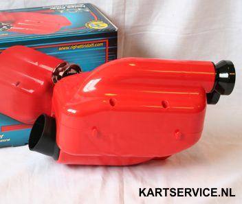 Luchtfilter RR 23mm type NOX CIK rood