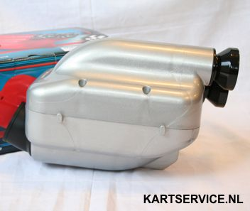 Luchtfilter RR 30mm type NOX CIK zilver