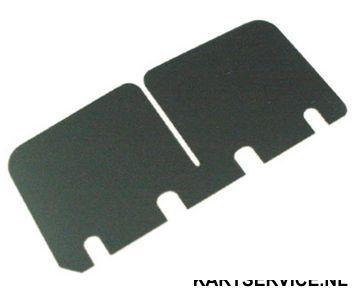 Membraanplaat klein 0.27 mm