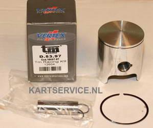 Zuiger Vertex compleet TM K9/KZ10 53.97