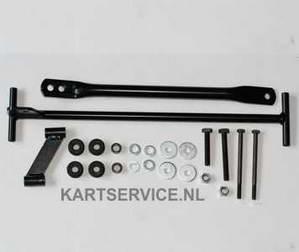 Radiateursteun kit 410mm IAME X30