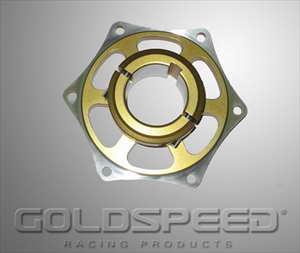 Remschijfsupport 40mm goud GS