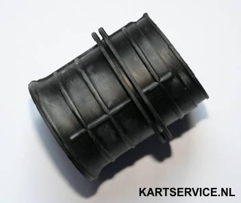 Rubberen flens voor verbinden luchtfilter/carburateur