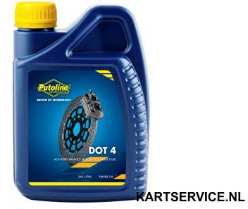 Putoline remvloeistof DOT 4 1 liter