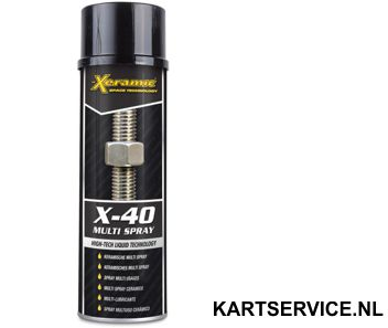 Xeramic X40 multispray  500ml